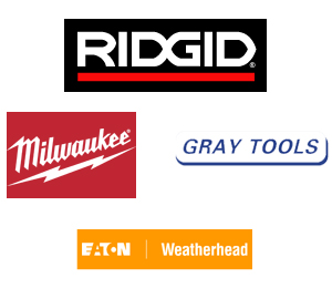 RIDGID, Weatherhead, Grey Pnuematic, Milwaukee
