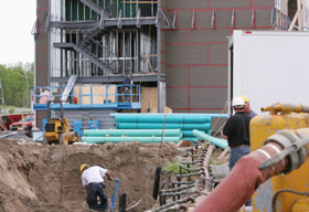 Apel Water Line and Sewer Installation